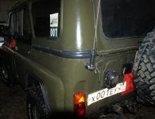 Молдинги задних крыльев УАЗ 469, 3151